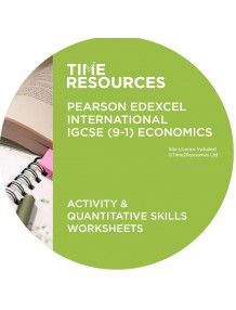 iGCSE (9-1) Pearson Edexcel Economics Activity & Quantitative Skills Worksheets